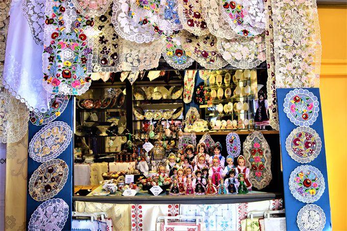お土産の宝庫!ブダペスト中央市場