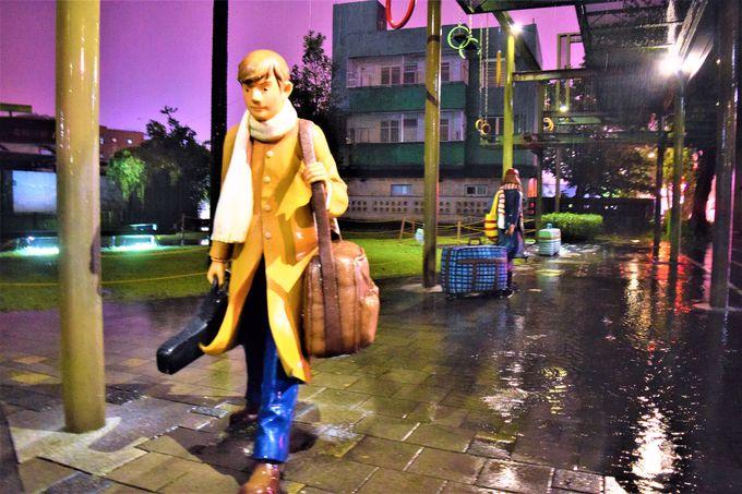 まるでテーマパーク?フォトジェニックな宜蘭駅前