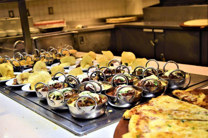 世界各国の料理が楽しめる!種類豊富な品揃え