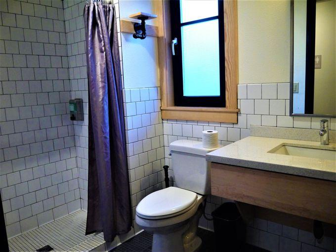 共有スペースが快適!バスルーム独立でホテル並み