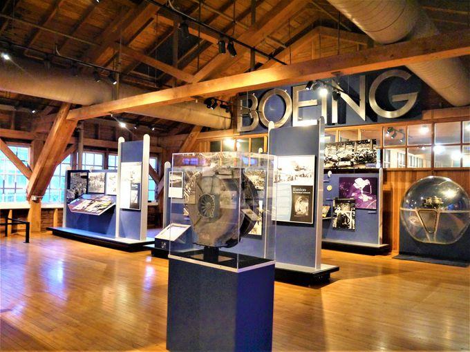 ボーイングの旅客機の歴史やお土産屋も必見!