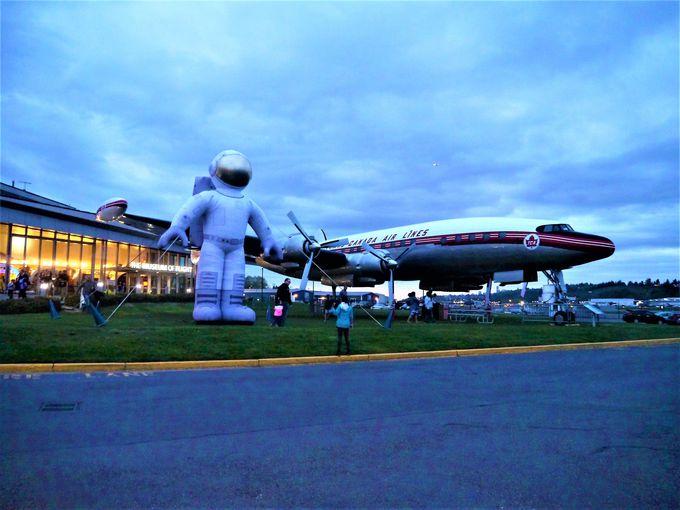 飛行機の移り変わりがわかる!見どころたっぷりの博物館