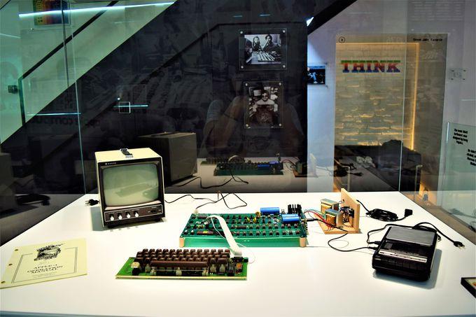 初代アップルのコンピューターは必見!