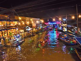 朝も昼も夜も楽しめる!バンコク近郊水上都市「アンパワー」