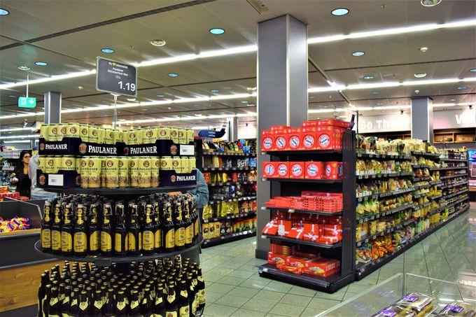 帰国前にバラマキ土産やビールが買えるスーパー「E EDEKA」