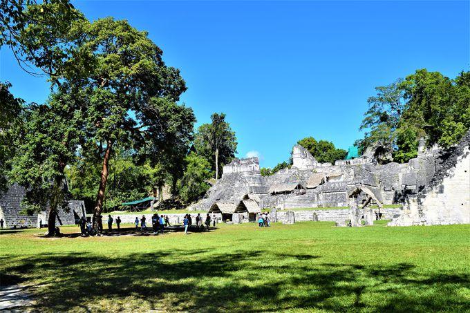 ティカル遺跡の中心「グランプラザ」