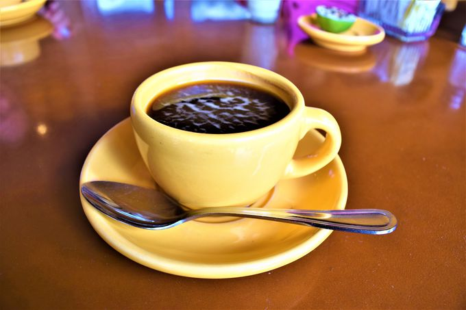 最後は美味しいコーヒーの試飲とお土産を!