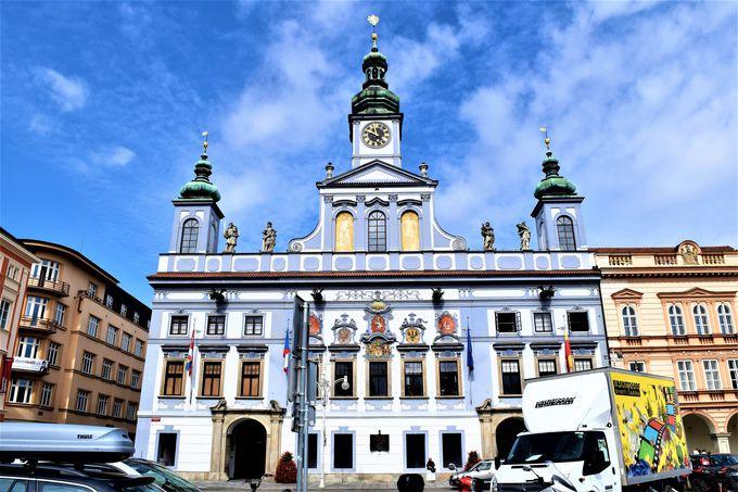 広場が美しい!チェスケーブジェヨビツェの旧市街