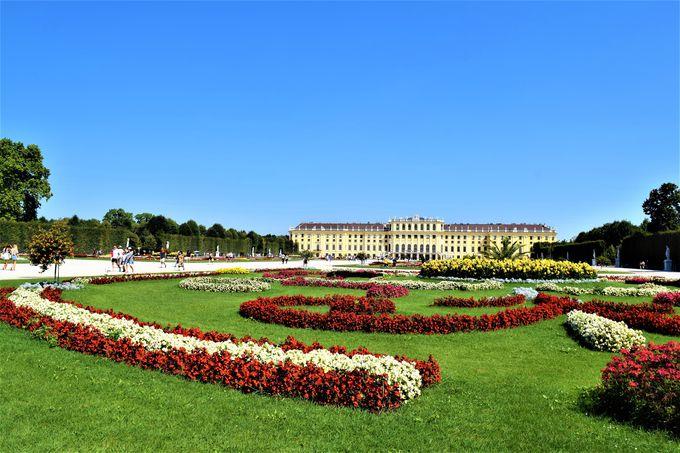 世界遺産の巨大宮殿「シェーンブルン宮殿」
