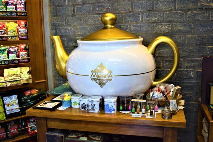 美味しい紅茶!ムレスナ・ティーセンター