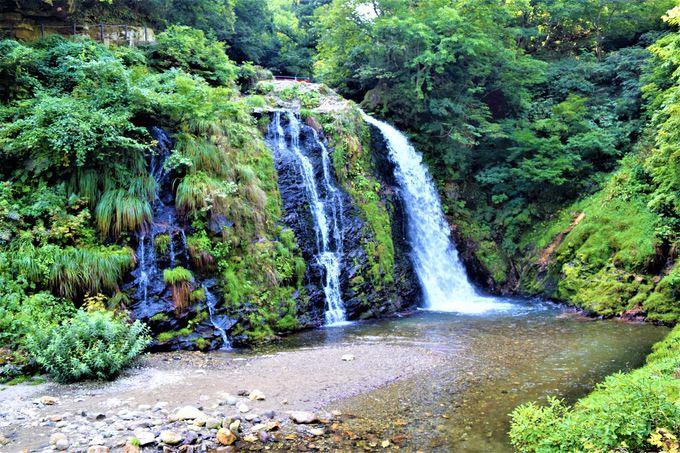滝や川も!銀山温泉は自然の宝庫