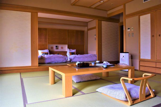 大きな窓が特徴!ゆったりとできる客室
