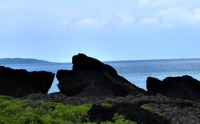 青蛙石海洋遊憩公園の色々な奇岩を見て楽しもう!