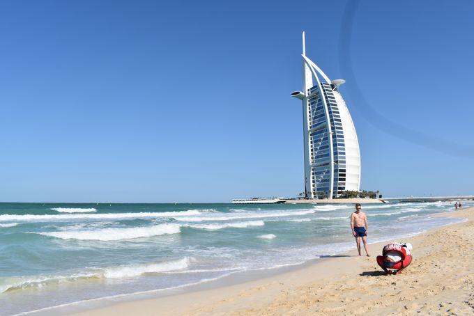 美しいアラビアンビーチ