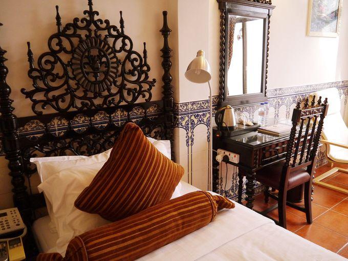 古典的ポルトガル様式の部屋が素敵!