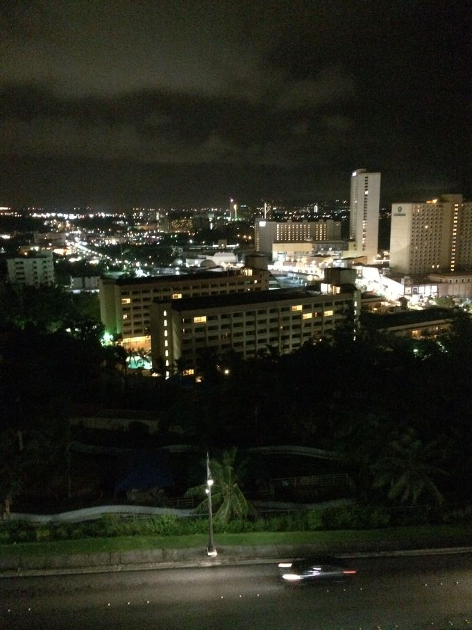 グアムの夜景は美しい