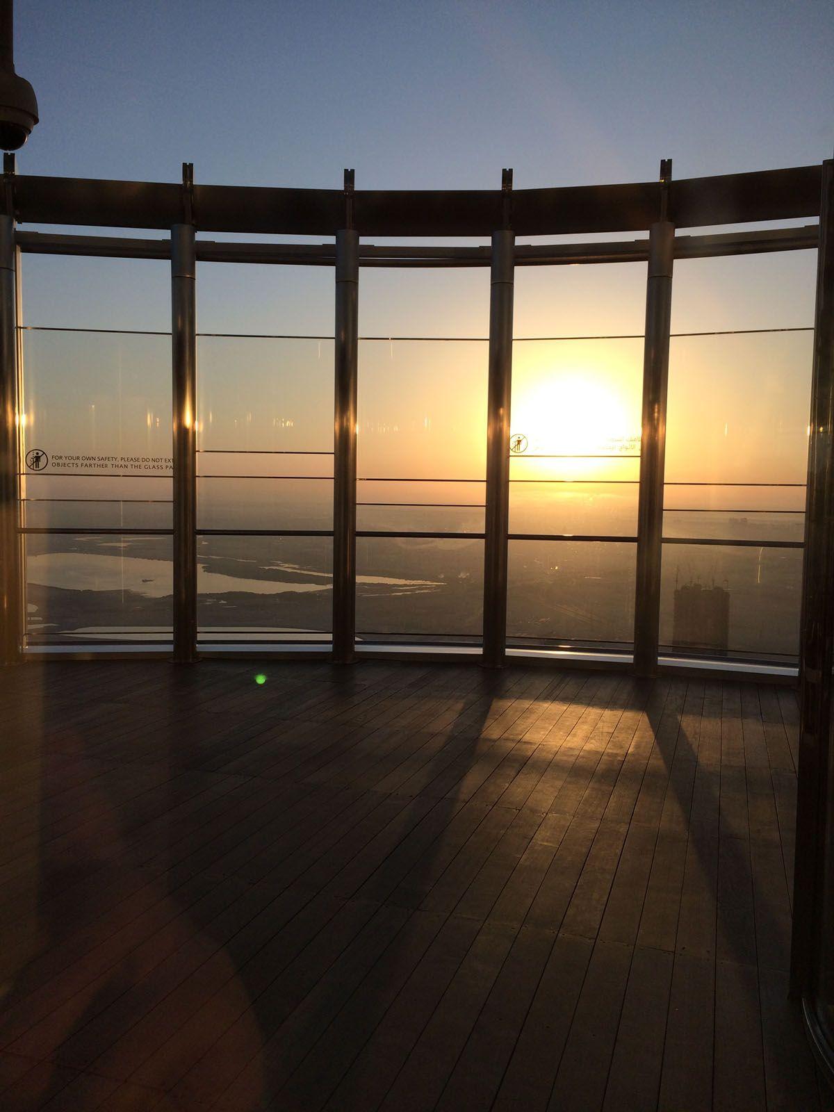 世界一だらけ!ブルジュハリファタワーと展望台