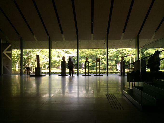 美術館とショップ