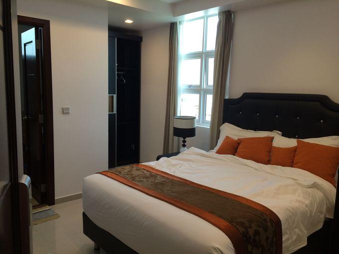 リヴェティビーチホテルの部屋