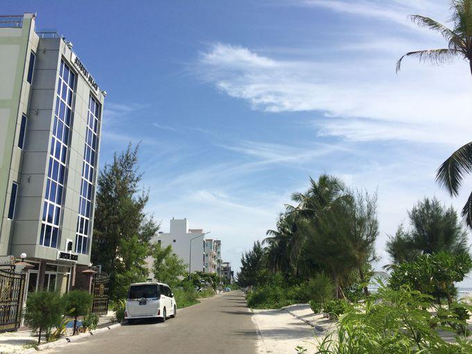 リヴェティビーチホテル外観