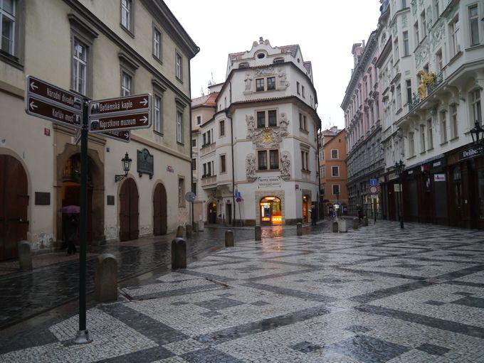 16時頃:旧市街