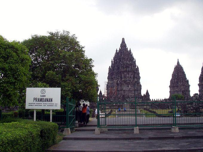 14:30 プランバナン寺院
