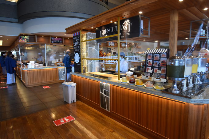 北海道の食材にこだわったレストラン