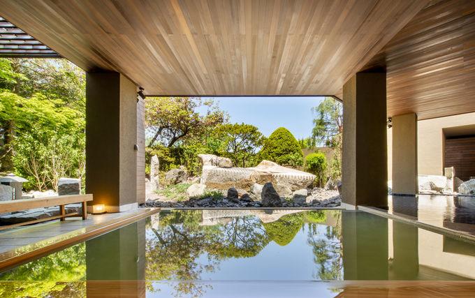 リニューアルした絶景の大浴場