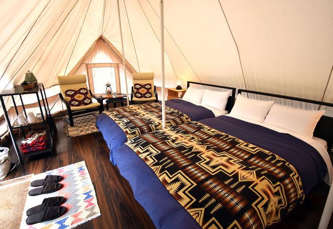 これがテント!?オシャレで快適な「THE FARMキャンプ」