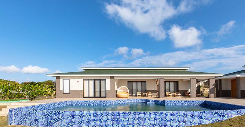 セカンドハウスをコンセプトとした全107邸のビラハウス