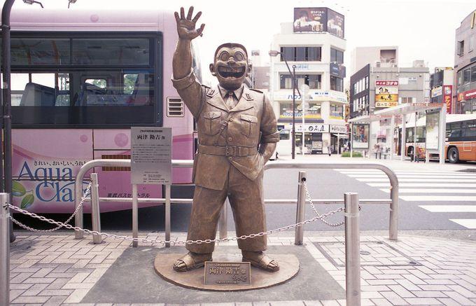 「こち亀」銅像は全部で14体!!