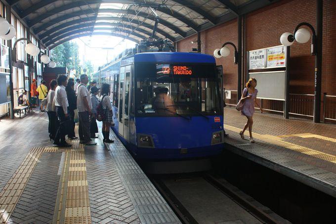 東急世田谷線とはどんなところを走っているの?