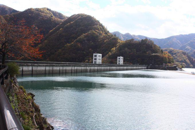 水道用としては日本有数の大きさを誇る小河内ダム