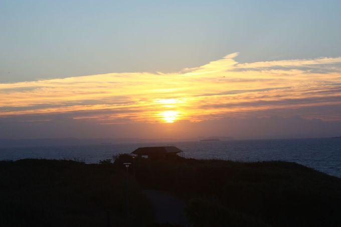 城ヶ島公園からの初日の出はこんなイメージに……