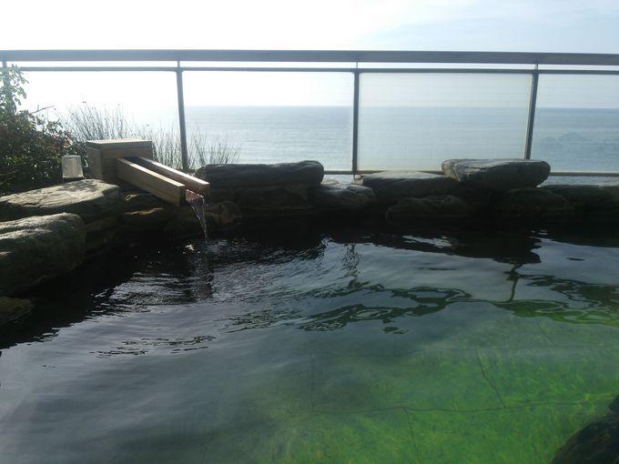 「瀬波はまなす荘」の露天風呂の開放感も素晴らしい!