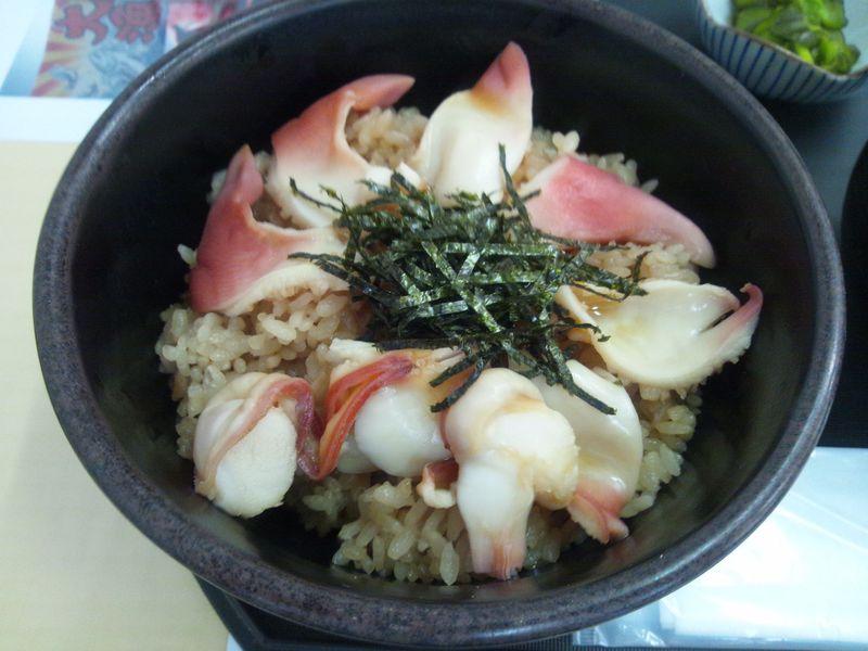 津波被害から復活したホッキ飯の名店!相馬市松川浦「たこ八」