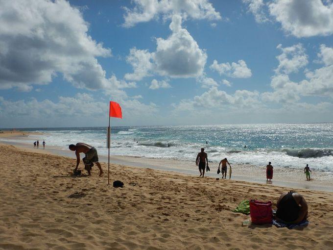 ボディボーダーに人気の「サンディービーチ」