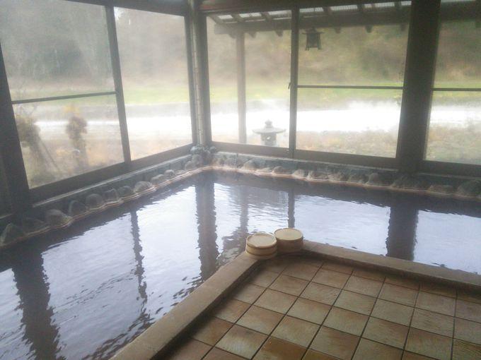 宮下温泉栄光館の展望風呂