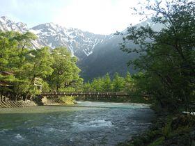 人混み知らず、早朝日帰り上高地ハイキング&「上高地温泉ホテル」天然温泉で立ち寄り湯