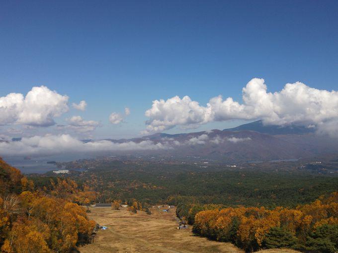 裏磐梯スキー場の上部