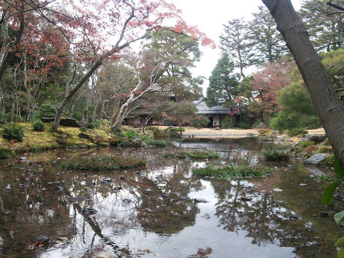 作庭家、七代目 小川治兵衛による池泉回遊式庭園