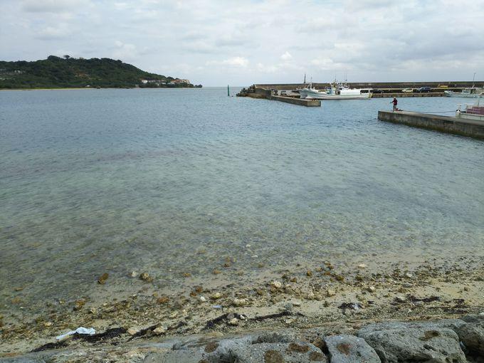 沖縄県南部の小さな離島、奥武(おう)島