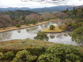 京都・修学院離宮は華やかな王朝文化感じる宮内庁管理の元皇室別邸