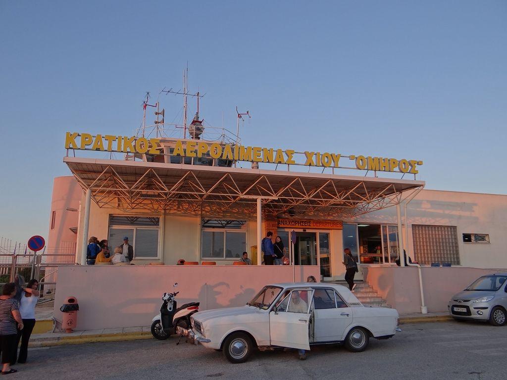 ヒオス島 ピルギ村へ