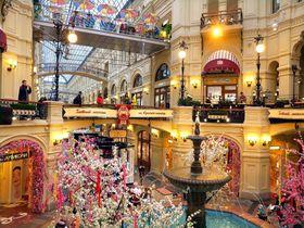 モスクワ一のデパート「グム百貨店」〜ロシア土産は全部ここで揃います!