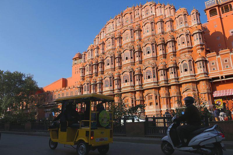 ピンク色に染まった街!インド・ジャイプール「ピンク・シティ」