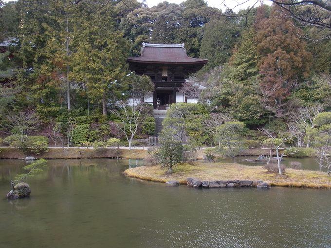 いよいよ一番の見所、円成寺到着。疲れた体を美しい庭園と仏様で癒してください。