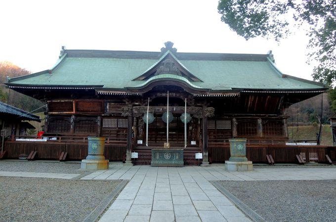 高崎だるまの生みの親が祀られる、達磨寺の本堂(霊符堂)