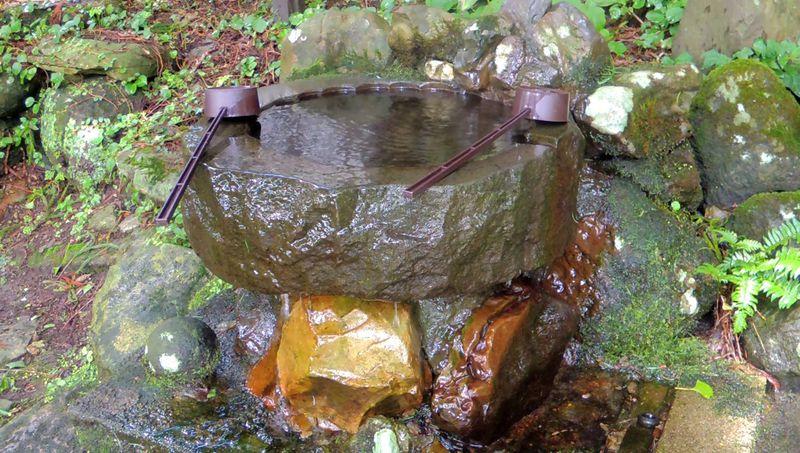 豊かな自然と清水に恵まれた神秘的な雰囲気に魅了される