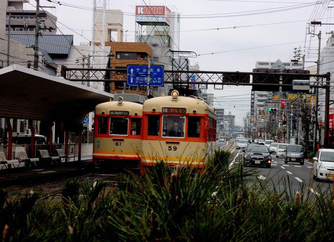 サンルート松山はJR松山駅から徒歩約3分!